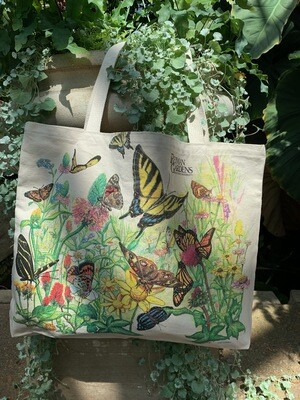 *Reiman Gardens butterfly tote bag