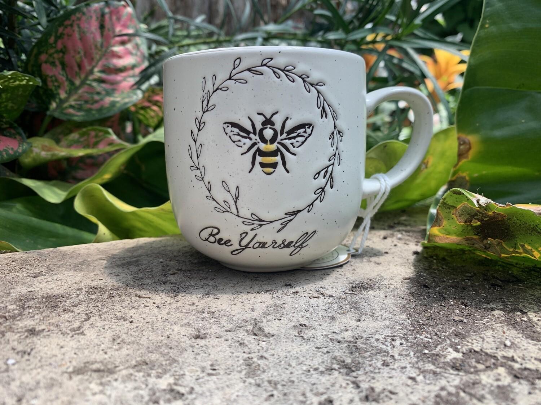 """*""""Bee Yourself"""" Bee Mug"""