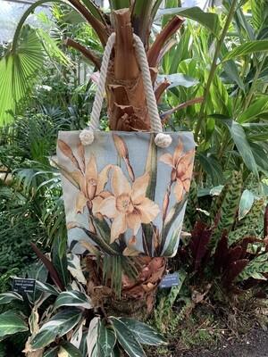 *Tote bag with Yellow Iris