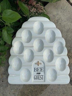 *Beehive Egg Plate