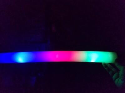 Winter Wonderscapes LED Baton Foam Sticks