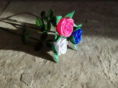 Winter Wonderscapes LED Glowing Roses