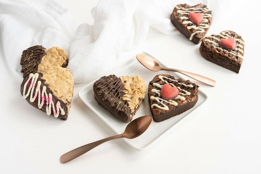 Duo de coeur en chocolat