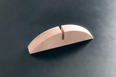 Holzfuss für 6 mm Glas