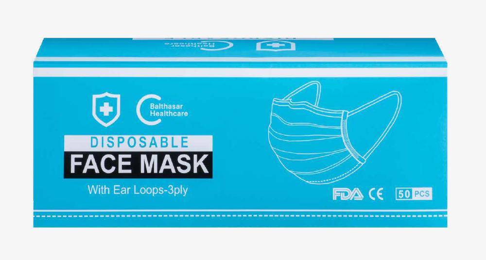 Hygienemasken / FFP1-Masken / chirurgische Masken