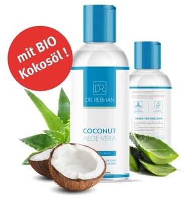 Massagecrème BIO-Kokosnuss Aloe Vera, unparfumiert