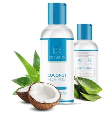 Massagecrème Kokosnuss Aloe Vera, unparfumiert