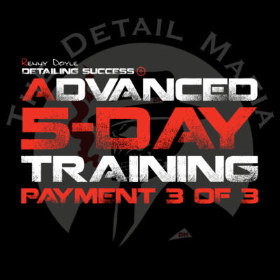 Advanced 5-Day Training 3rd Payment