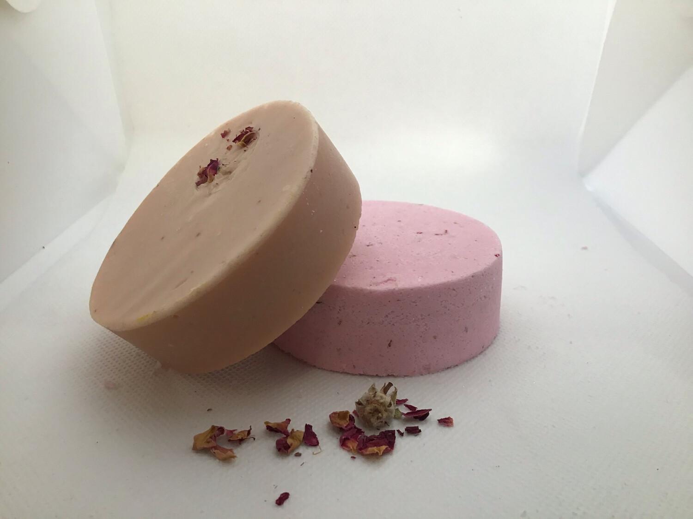 Rose Patchouli Soap And Shower Steamer Set