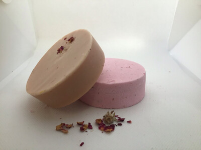 Rose Patchouli Soap And Shower Steamer Set
