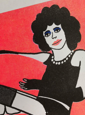 "Riso Print ""Rocky Horror Picture Show"""
