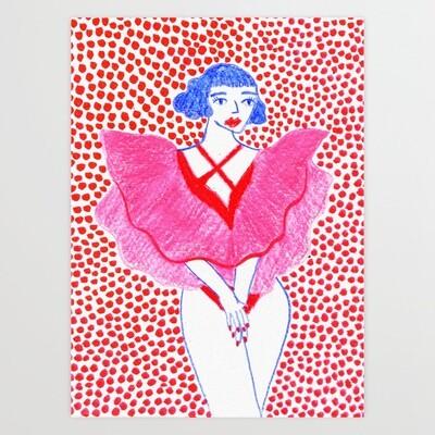 Art Print Pretty Jennifer