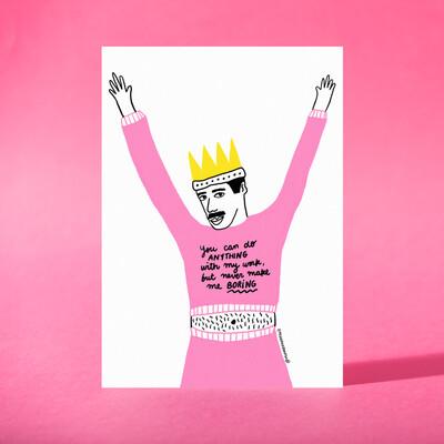 """Art Print """"Queen"""""""
