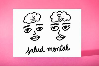 """Art Print """"Salud mental"""""""