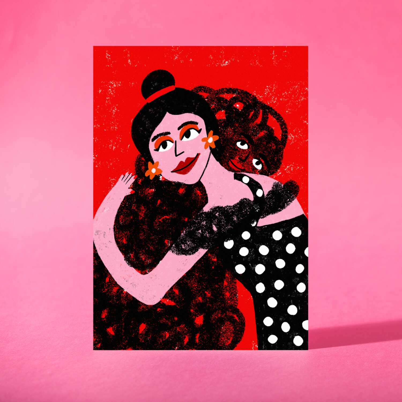 "Art Print ""Abraza a tu ansiedad"""