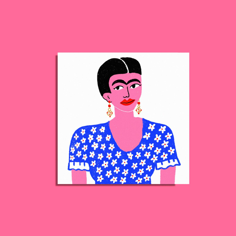 "Art Print ""Frida Kahlo"""