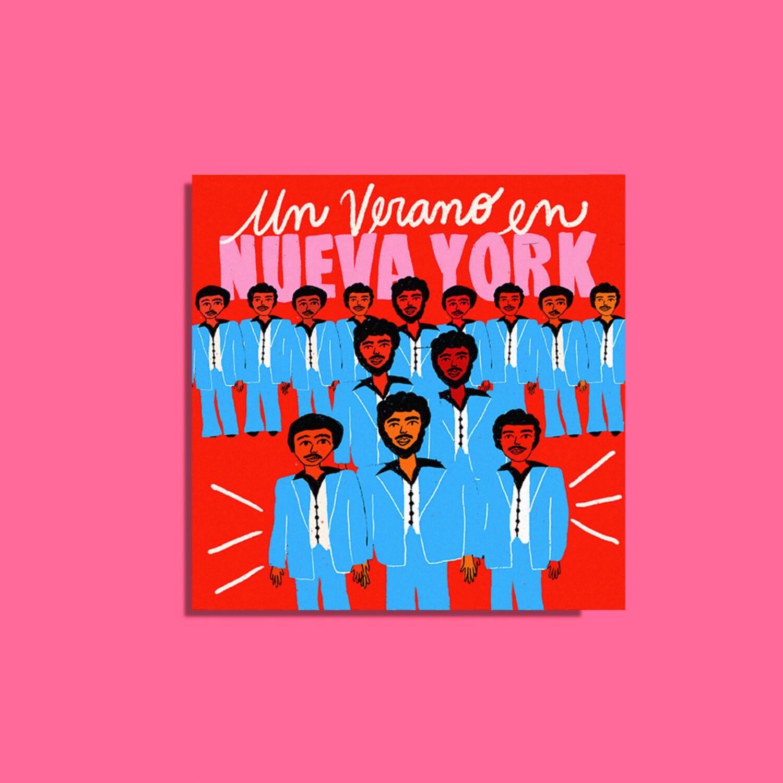 """Art Print """"Un verano en NY"""""""