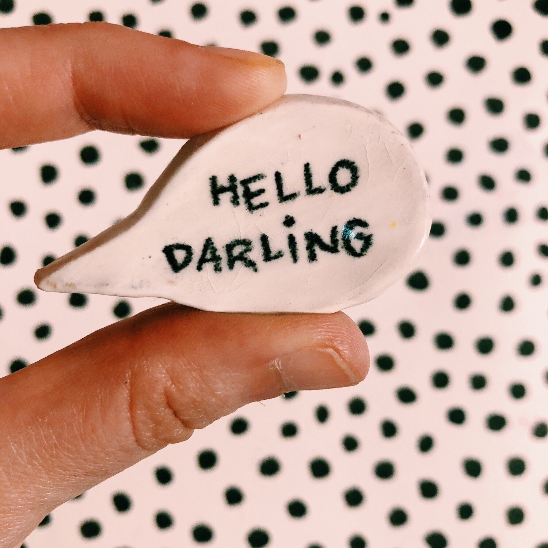 Pin Hello Darling