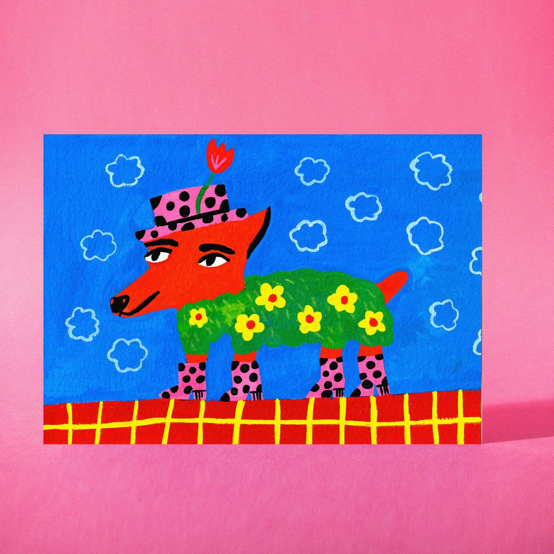 """Art Print """"El amigo de Tiggy"""""""