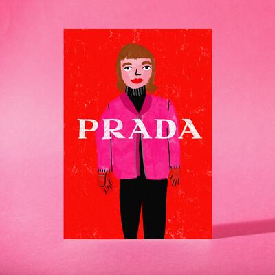 """Art Print """"Prada"""""""
