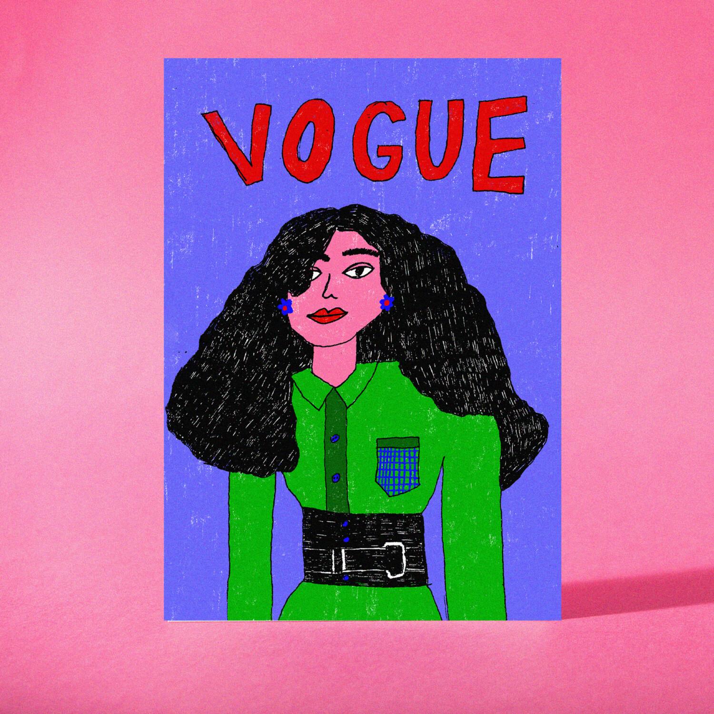 "Art Print ""Vogue"""