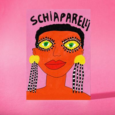 """Art Print """"Schiaparelli"""""""