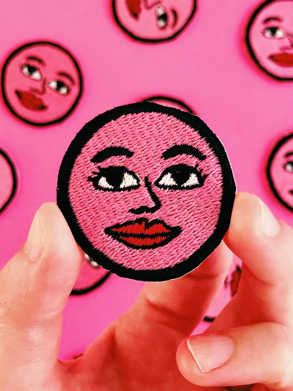 """Parche """"Pink moon"""""""