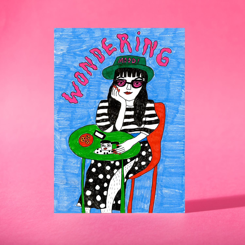 "Art Print ""Wondering"""