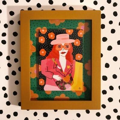 "Art Print ""Gucci"" Enmarcado"