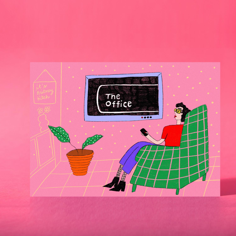 "Art Print ""The Office"""