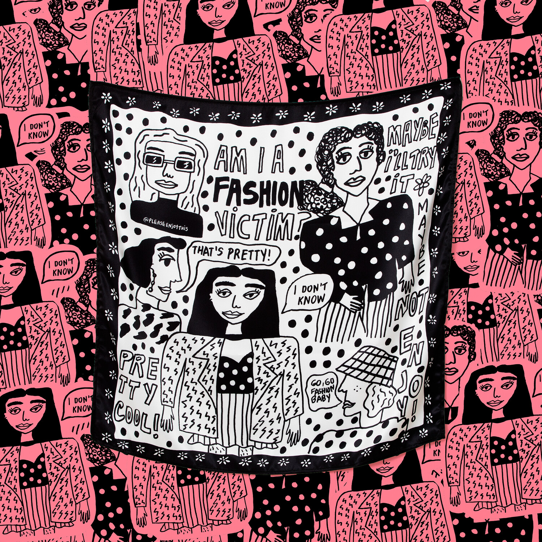 "Pañuelo ""Fashion Victim"""