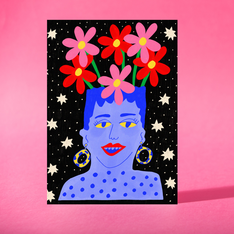 "Art Print ""Un florero"""