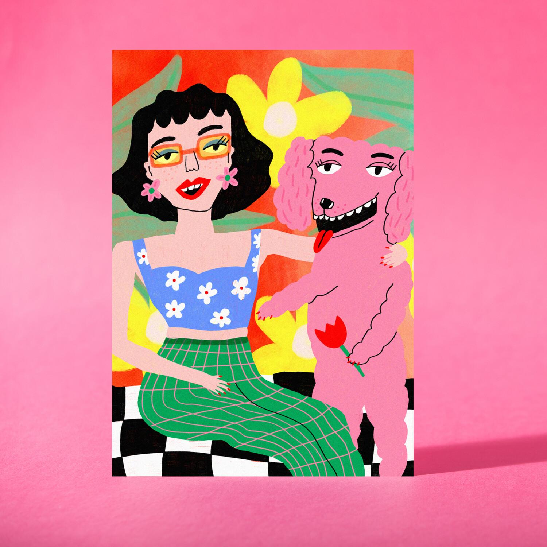 "Art Print ""Una tarde de verano"""