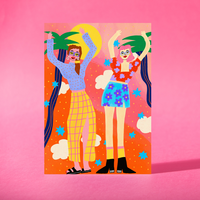"Art Print ""Únete al baile"""