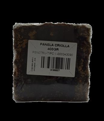 PANELA CRIOLLA  400GR