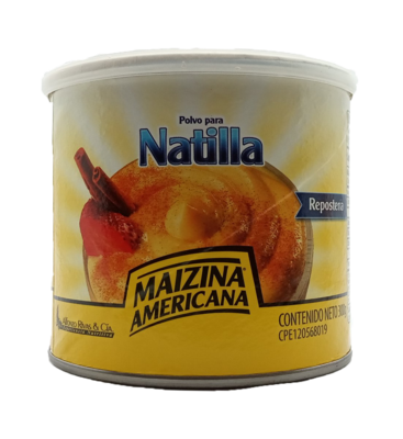 MAIZINA AMERICANA POLVO PARA NATILLA 300GR
