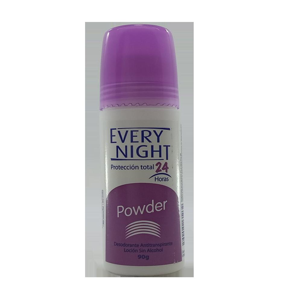 EVERY NIGHT DESODO. POWDER ROLLON 90GR