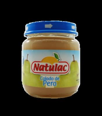 NATULAC COMPOTA COLADO PERA 113gr