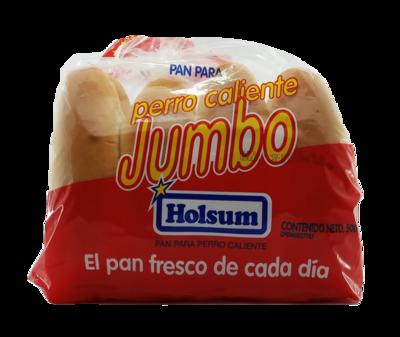 HOLSUM PAN PERRO CALIENTE JUMBO 500gr