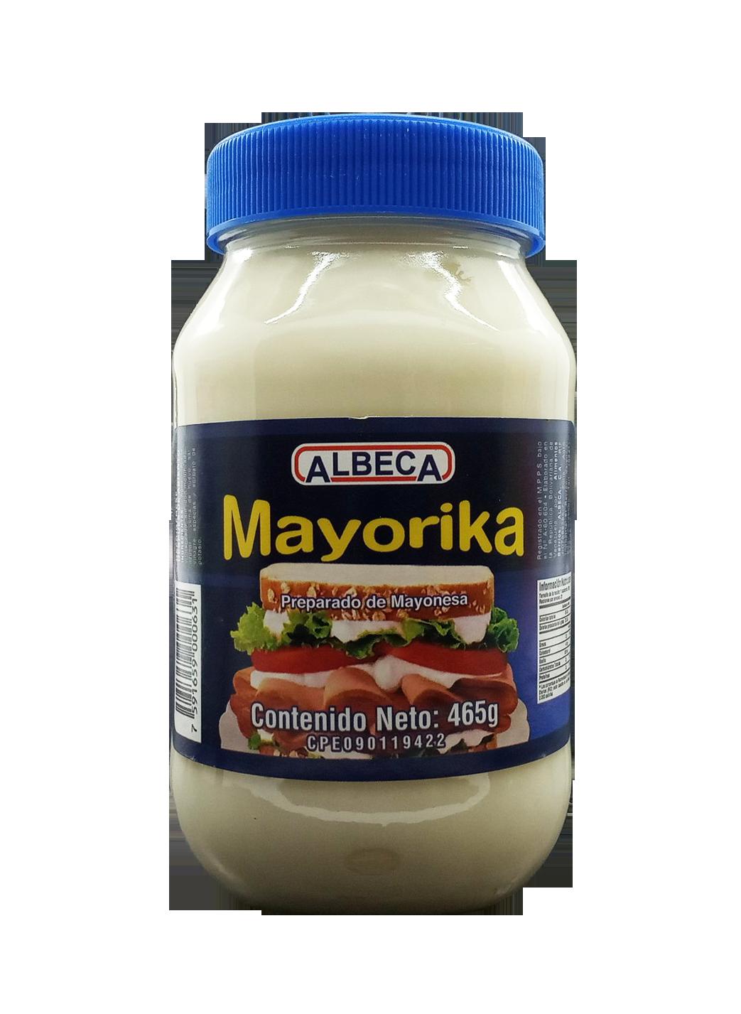 MAYORIKA PREPARADO DE MAYONESA 465GR