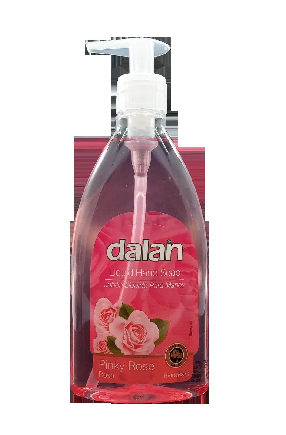 DALAN JABON LIQUIDO PINKY ROSE 400ML  4110103