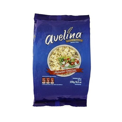 AVELINA AVENA HOJUELAS ENTERA BOLSA 250GR