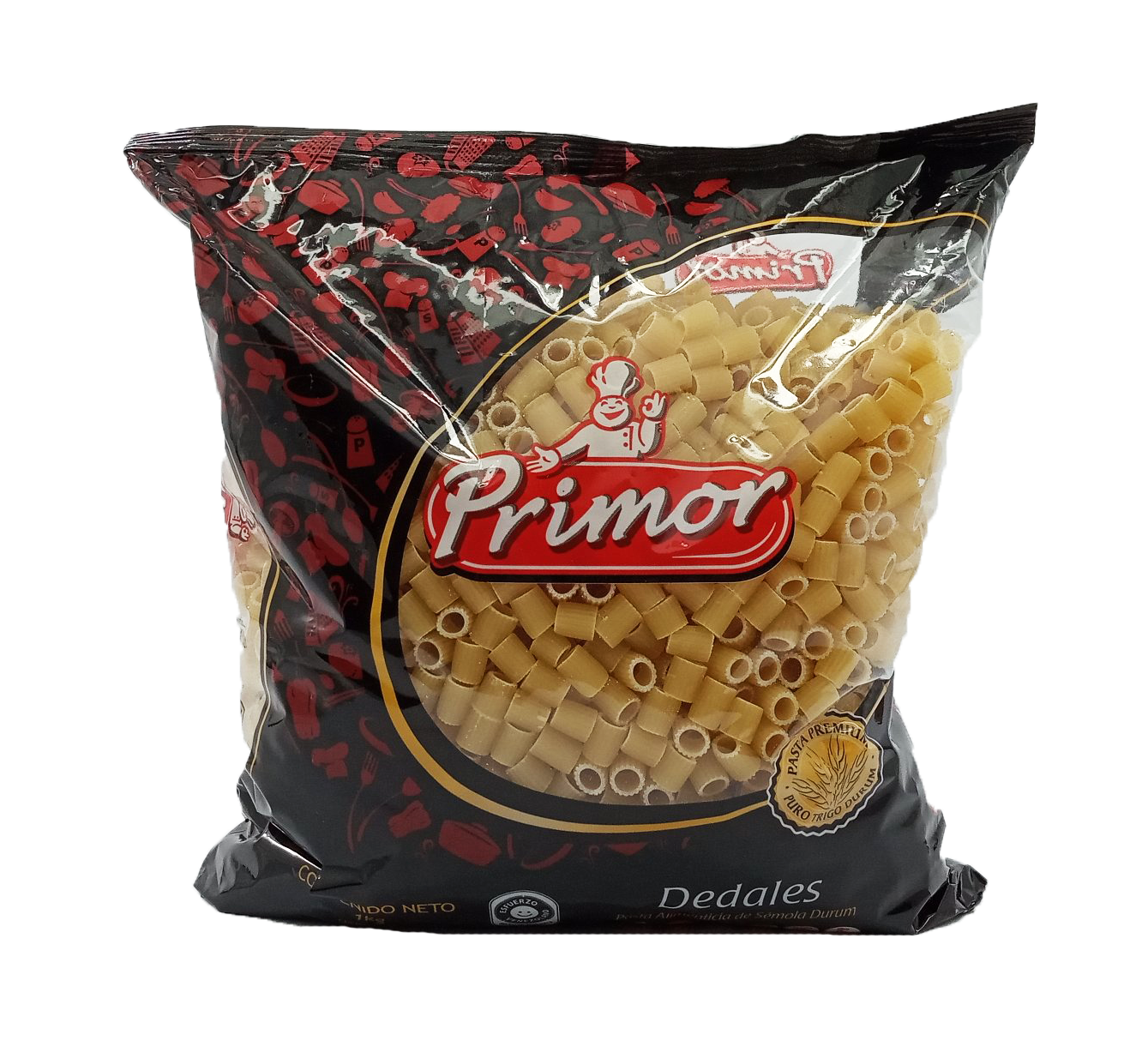PRIMOR PASTA DEDALES 1KG