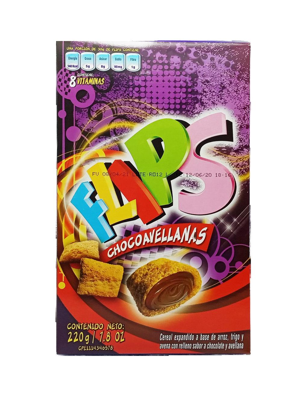 FLIPS CHOCOAVELLANA 220GR