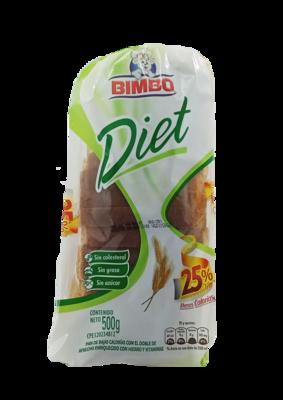 BIMBO PAN DIET 500 gr