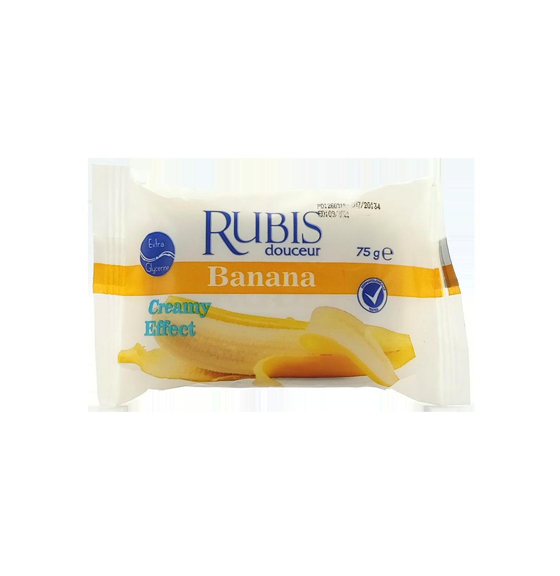 RUBIS DOUCEUR JABON DE BANO BANANA 75GR