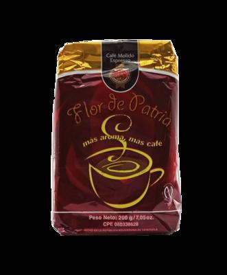FLOR DE PATRIA CAFE MOLIDO ESPRESSO 200GR