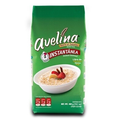 AVELINA AVENA HOJUELAS INST 400GR