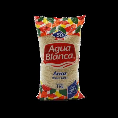 AGUA BLANCA ARROZ TIPO I 1KG