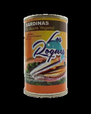 LOS ROQUES SARDINA ACEITE 170GR
